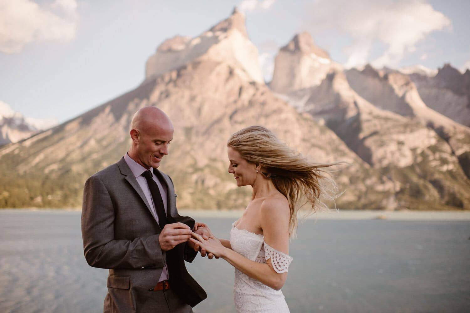 Couple have a Commitment Ceremony Simply by Themselves