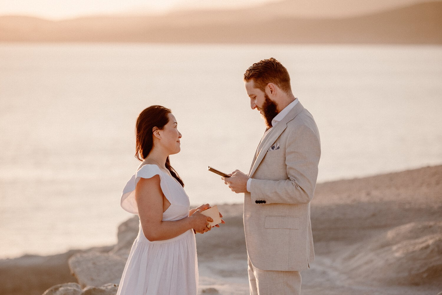 Personal and Intimate Commitment Ceremony