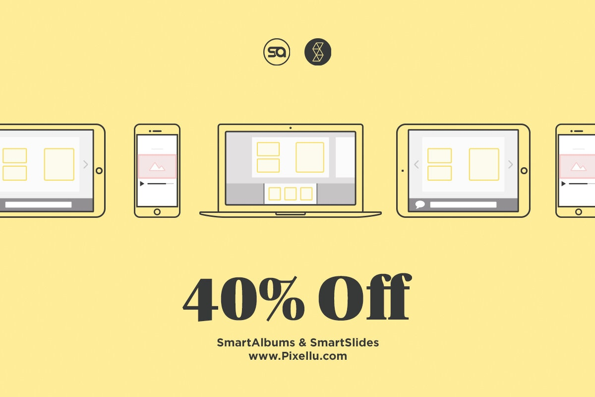 Flyer of a Black Friday Deal for Pixellu.